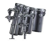 Pearl Drums CRB612CT  Crystal Beat Acrylic Rocket Tom with BT3