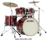 Tama CL52KSCCW-DIS PLAYMODEL 5-Piece Superstar Classic Maple Shell Pack in Classic Cherry Wine Lacquer Finish