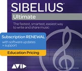 Avid Sibelius | Ultimate [EDUCTIONAL PRICING] 1 Year Subscription
