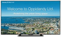 """Sharp PN-LE701 70"""" Commercial LCD TV with Built-In Digital Tuner"""