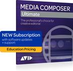Avid MC-UL-SUB-EDU Media Composer | Ultimate [EDUCATIONAL PRICING] 1 Year Subscription [VIRTUAL]