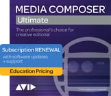Avid Media Composer | Ultimate [EDUCATIONAL PRICING] 1 Year Subscription Renewal [VIRTUAL]