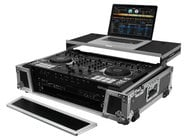 Odyssey FZGSDJ808W2 [RESTOCK ITEM] Flight Zone Glide Style DJ Controller Case for Roland DJ-808 and Denon MC7000 V.2
