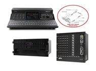 Avid S6L-24C-112-STAGE-16 Professional Modular & Scalable Sound Mix System + Added AVB-192