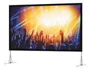 "Da-Lite Fast-Fold NXT Screen System 166"" Diagonal 16:10 Portable Screen System with HD Rental Surface"
