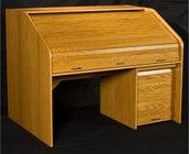 HSA Rolltops HREXT-II High Rise Extended Rolltop Desk