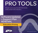 Avid PROTOOLS-UP/SUP-I-RN Pro Tools® 1-Year Updates + Support Plan Renewal For EDU Institutions [BOX]