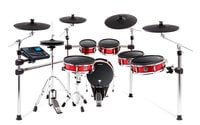 6-piece Electronic Drum Kit with Mesh Drumheads