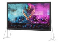 "Da-Lite Heavy Duty Fast-Fold Deluxe Screen System - 99797 367"" Diagonal HDTV Projection Screen with Da-Mat Surface"