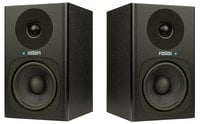 "Fostex PM04C PM0.4c 2-Way Studio Monitor with 4"" Woofer, Pair"