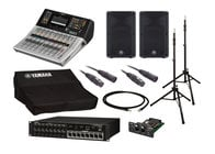 Yamaha TF1 Digital Mixer Bundle with Stagebox + Active Speakers + Stands + Cables