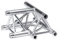 Global Truss TR-4096H-U/D 1.64 ft. 3 Way Horizontal Triangular Truss T-Junction with Apex Up or Down TR4096H-U/D