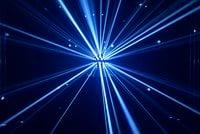 Chauvet DJ ROTOSPHEREQ3WHT LED Mirror Ball Simulator in White