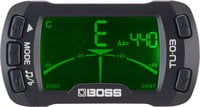 Boss TU-03  Clip-On Tuner/Metronome