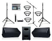 QSC K10.2-DUAL-5W-K Active Speaker Bundle