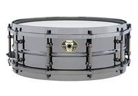 "Ludwig LW5514 5"" x 14"" Black Magic Brass Snare Drum"