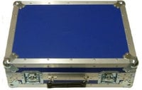 ChamSys FCMQ80WHEELS Flight Case for MagicQ MQ80 Blue with Wheels