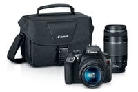 Canon EOS-RBEL-T6-DUAL  18MP DSLR Camera Kit with Lens