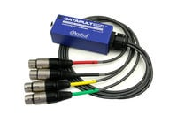 Radial Engineering CATAPULT-MINI-TX 4-Channel Audio over Cat5 Cable Transmitter