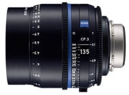Zeiss CP3-135  CP.3 135mm T2.1 Compact Prime Lens in Feet Scale