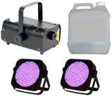 Full Compass FOG-UVx2-K  UV Par and Fogger Package