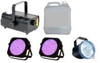 Full Compass FOG-UVX2-STROBE-K  UV Par, Strobe and Fogger Package