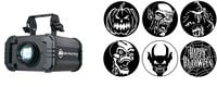 Full Compass GOBO-PROJ-HALLOW2-K Halloween Gobo Projector Package