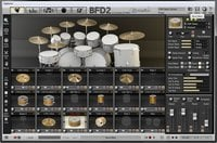 Platinum Samples Rock Legends for BFD Drum sample library for BFD2 and BFD Eco [download]