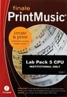 Finale PrintMusic Lab 5