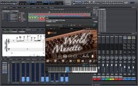 Psound World Musette Virtual Mussette Accordion Sample Library [download]