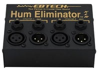 Ebtech HE2XLR Hum Eliminator, 2 Channel with XLR Jacks