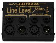 Ebtech LLS2XLR Line Level Shifter, 2 Channel with XLR Jacks