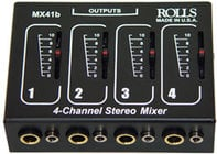 Rolls MX41b 4-Channel Passive Mixer MX41B