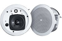 "JBL CONTROL-24CT-MICRO+ Control 24CT MicroPlus 4"" Ceiling Speaker with Transformer for 70V/100V Systems in White"