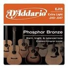 3-Pack of Extra Light Phosphor Bronze Acoustic Guitar Strings