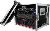 "Effects Case, 8U, 12 3/8"" Rack Depth"