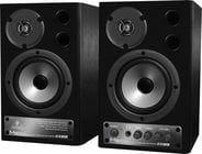 Pair of 2-Way Active Digital Monitor Speakers, 10-Watts/ea