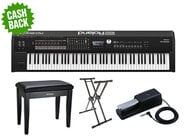 Roland RD-2000 Stage Piano Bundle, Keyboards and MIDI