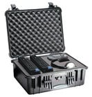 Pelican Cases PC1550-BLACK Medium Black Case with Foam Interior