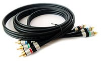 Kramer C-3RVM/3RVM (3 Feet) 3 RCA Male to 3 RCA Male Component Video Cable, 3 Feet C-3RVM/3RVM-3