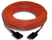 DVI-M to DVI-M Fiber Optic / Copper Hybrid Cable, 164 Feet