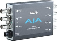 AJA Video Systems Inc GEN10 SD/HD/AES Sync Generator, Blackburst, Tri-Level Sync Generator with Power Supply