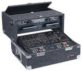 Odyssey CS4800 Carpeted Slide-Style CD DJ Case, 8 RU + 4 RU CS4800