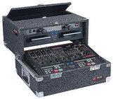 Odyssey CS4800 Carpeted Slide-Style CD DJ Case, 8 RU + 4 RU