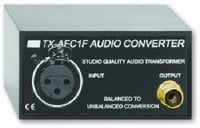 Radio Design Labs TX-AFC1F Balanced to Unbalanced Audio Converter TXAFC1F