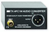 Unbalanced to Balanced Audio Converter