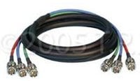 Cable 3 Channel BNC 25Ft