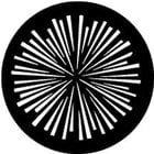 Rosco Laboratories 77751 Gobo Radial Lines 77751