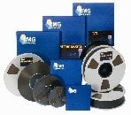 "RMGI-North America SM900-34820 1"" x 2500 ft Recording Tape on 10.5"" Metal Reel"
