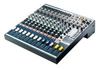 Soundcraft EFX8 8 Channel Multipurpose Compact Mixer with Effects EFX8